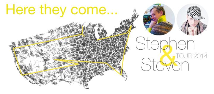 Last tour map poster